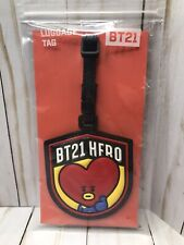 BT21 HERO Luggage Tags -  Tata Heart - OFFICIAL
