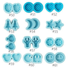 Earring Stud Mold,Silicone Resin Molds,Mini Ear Stud Mold,Jewelry Earring Molds
