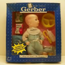 Gerber 11 inch baby doll drink and wet changing set