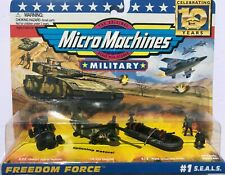 Micro Machines Military #1 S.E.A.L.S. - 10th Anniversary (1996)