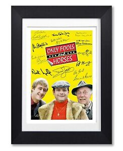 ONLY FOOLS & HORSES CAST SIGNED POSTER SERIES SEASON PRINT PHOTO AUTOGRAPH GIFT