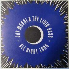"""Jay Mondi & The Livin 'Bass-durante toda la noche-Ten 304-Vinil - 7"""" - single-record - 45"""