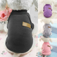 Pet Coat Dog Jacket Winter Warm Clothes Puppy Cat Sweater Coat Clothing Apparel