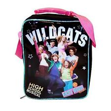 High School Musical Black Insulated Lunch Bag Box School Tote Lunchbox Zac Efron
