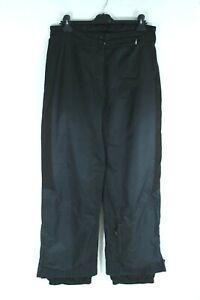 OBERMEYER Classic Black Boardwear Ladies Trousers Size 12 EU L