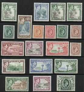 JAMAICA 1938-52 Group of 20  Excellent Looking M.Mint with Gum  No Hidden Faults