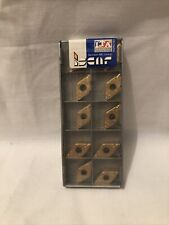 10 Plaquettes Carbure ISCAR DNMG 110404-SF IC570 Reversible / Carbide Insert