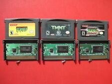 Lot 3 TMNT Game Boy Advance Games *Authentic & Saves* Ninja Turtles 1 & 2 Nexus