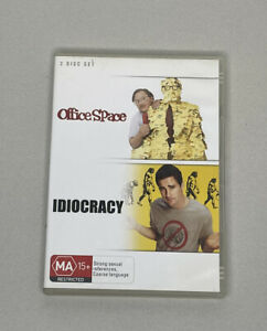 Office Space & Idiocracy DVD - 2 Discs - Region 4