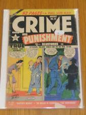 CRIME AND PUNISHMENT #29 G (2.0) LEV GLEASON COMICS AUGUST 1950