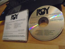 RARE ADV PROMO Roy CD Big City Sin & Small Town Redemption BOTCH Russian Circles
