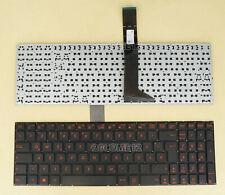 For Asus W508L W508M W518J W518L W518M D552C D552E Keyboard German Tastatur Red