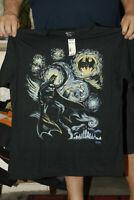 BATMAN T SHIRT LARGE NEW W TAGS FAMOUS PAINTING PARODY DC COMICS STARRY NIGHT
