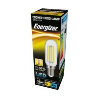Energizer Filament LED Cooker Hood Appliance Lamp Bulb 4W 240V SES Base (E14)