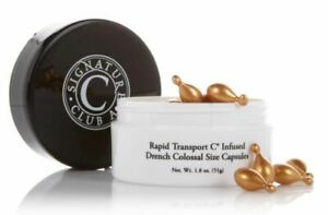 Signature Club A Rapid Transport C Infused Drench Colossal Size Capsules HUGE!!
