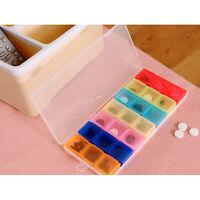 Pastillero semanal de medicamentos Caja de medicamentosCasera Almacenamiento QA
