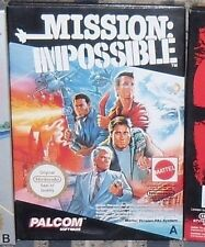 1 RETRO GIOCO NINTENDO NES VINTAGE 1990 GAME-MISSION IMPOSSIBLE-RETROGAME MATTEL