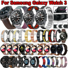 Stainless Steel Strap Wrist Band Bracelet For Samsung Galaxy Watch 3 45mm 41mm