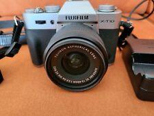 Fujifilm X-T10 mit Fujinon XC 15-45mm 1:3.5 - 5.6 Zubehör/Buch Zubehörpaket
