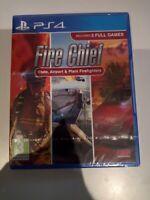 fire chief state airport plant firefighters ps4 playstation 4 ps 4 neuf