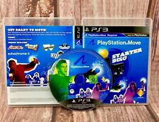 STARTER DISC FOR PLAYSTATION MOVE (move required not inc) SONY PS3 GAMES VGC