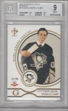RARE! MARC-ANDRE FLEURY 2003/04 PRIVATE STOCK SP ROOKIE #17/99 BECKETT 9 MINT
