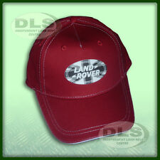 LAND ROVER - Red Baseball Cap with Union Flag Logo (LACH015RDA)