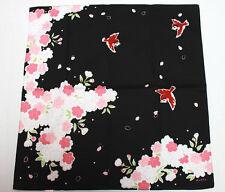 風呂敷 FUROSHIKI - Imprimé à la main - Suzume to Sakura - Made in Japan