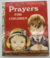 Little Golden Book - Prayers For Children 1981 HARDCOVER by Eloise Wilkin 405-32