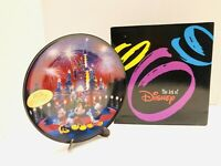 Walt Disney World 25 Magical Years Porcelain Collectible Porcelain Plate NIB!