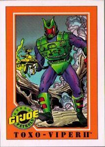 1991 Impel G.I. Joe #  3 Toxo-Viper II