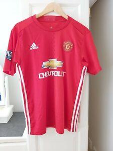 Manchester United FC Ibrahimovic Shirt M Adidas