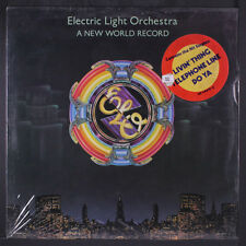 ELECTRIC LIGHT ORCHESTRA: A New World Record LP Sealed ('76 2nd pressing non-em