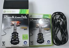 Xbox 360 Rocksmith 2011 Box Game Real Tone Cable Bundle