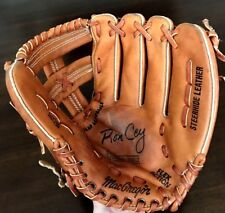 "Vintage MacGregor MG15 Flex Action RHT 11"" Leather RON CEY Baseball Mitt Glove"