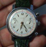 Vintage swiss watch DODANE Valjoux 22 chronograph working condition,serviced
