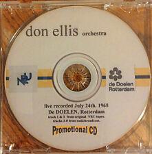 "Don Ellis ""Rotterdam LIVE"" CD (NEW)"