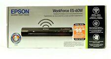 Epson WorkForce ES-60W Special Edition Wireless Portable Document Scanner - New!
