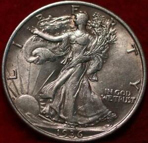 1936 Philadelphia Mint Silver Walking Liberty Half
