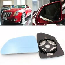 For Cadillac CTS 2005-2014 Side View Door Mirror Blue Glass With Base Heated