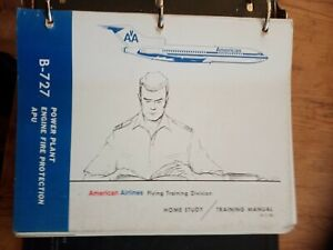 BOEING 727 TRAINING MANUAL 1972 AMERICAN AIRLINES