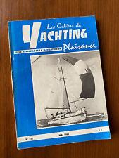 Cahiers du Yachting Mai 1963 N°138 - Plans du Muscadet de Philippe Harlé