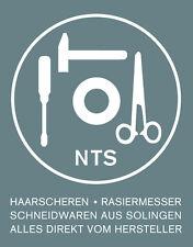 NTS-Solingen SET Hundeschere + Effilierschere rostfrei Rot - Scherenset Qualität