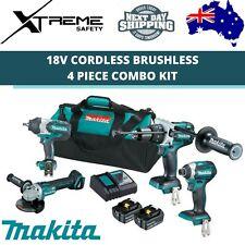 Makita Cordless Brushless 4 Piece Combo Kit 18v