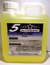 BLACK Trade Valet OIL Tyre Slik Instant Tyre Shine DRESSING On Or Brush 1Litre