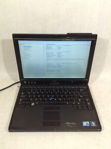"Dell Latitude XT2 12.1"" Laptop Intel Core 2 Duo 1.4GHz - BOOTS - RV"