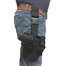 Black Tactical Leg Holster Fits Smith & Wesson M&p Sigma 9mm 40 V