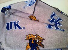 Ncaa University Of Kentucky Wildcats Baby Blanket Handmade