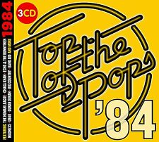 TOP OF THE POPS 1984 3 CD SET - VARIOUS ARTISTS (Released July 7th 2017)