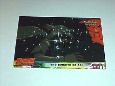 #38 The Rebirth of Ash Pokemon the First Movie Card 1999 Topps Mewtwo Strikes